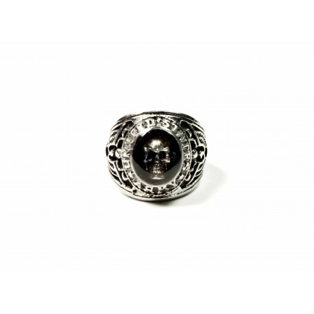 "Bague américaine U.S. ARMY ""The Ghost"" cristal By BPC"