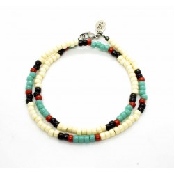 "Bracelet double tour Matubo ""Native Style"""
