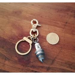 Porte clés laiton Spark Plug BPC