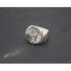 "Bague State Quarter ""CALIFORNIA 1850"" by IGWM"