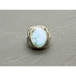 Bague Turquoise naturelle Arizona & argent 925
