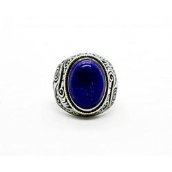 Bague chevalière Lapis Lazuli