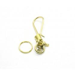 Porte clés laiton Crochet