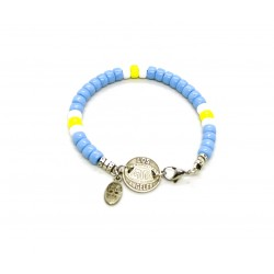 Matubo 6mm blue bracelet