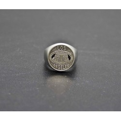 "Signet ring ""Los Angeles"" Token"