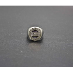"Bague chevalière ""Indianapolis"" token"