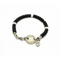 Matubo 6mm black bracelet