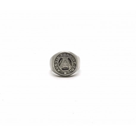 """Signet ring """"Austin"""" token"""