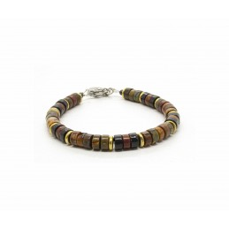 Red Creek Heishi Bracelet