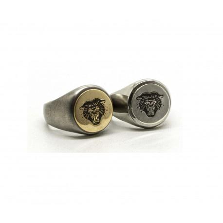 """Signet ring """"Panther"""""""